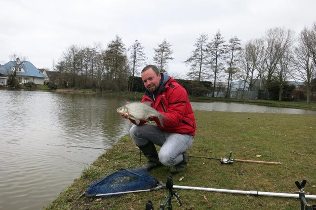 vissen met Dick en in de Beemster 005