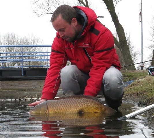 vissen met Dick en in de Beemster 027